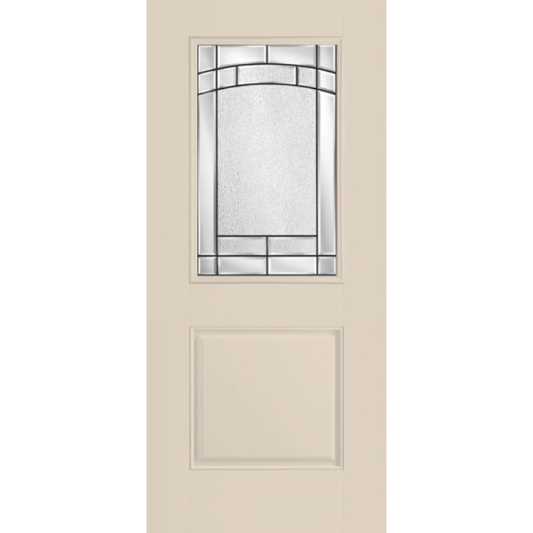 Belleville Smooth 1 Panel Door Half Lite